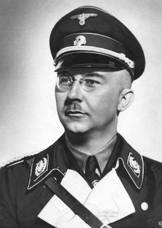 Heinrich Himmler looking super evil.