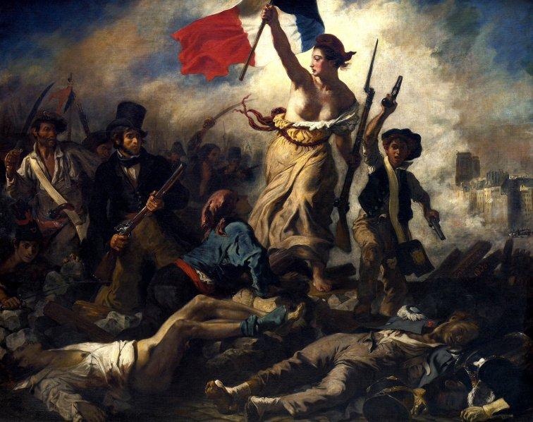 """De la Croix's """"Liberty Guiding the People"""""""