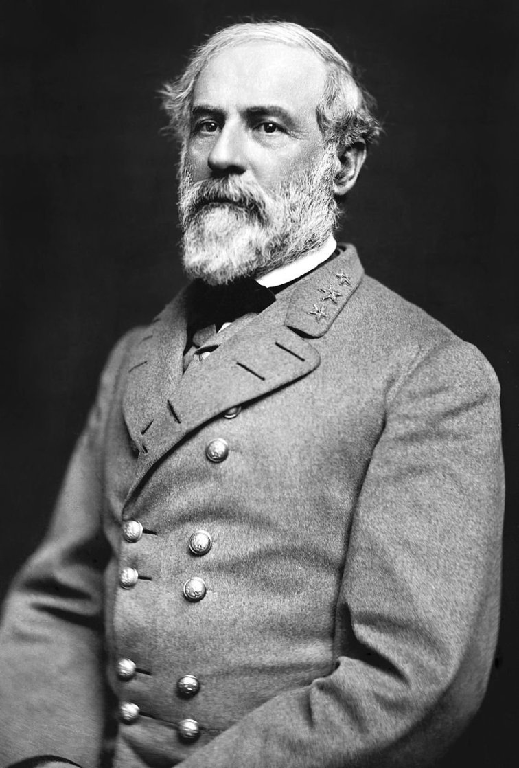If you have seen even one photo of Robert E. Lee, it is this one.